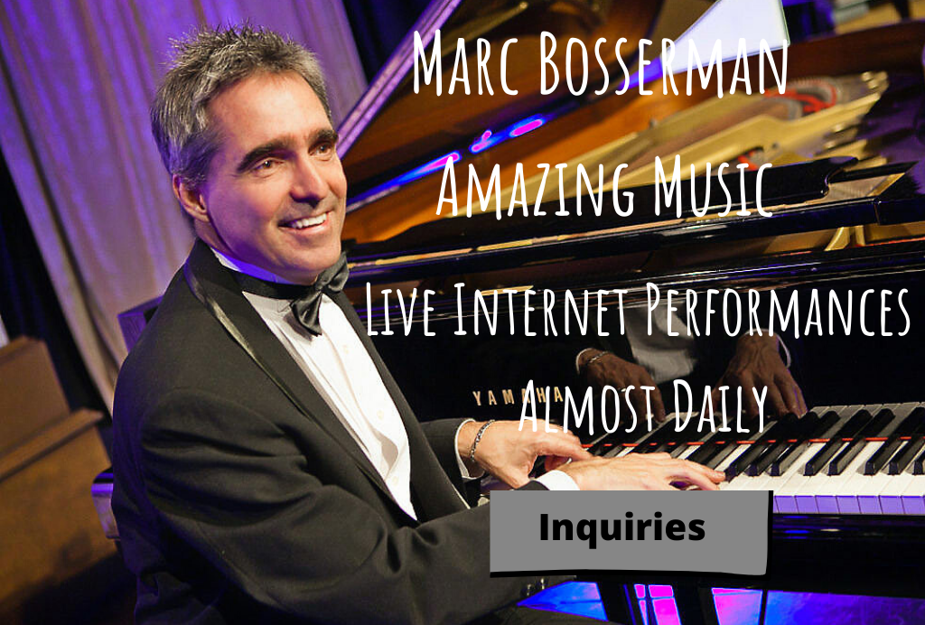 Marc Bosserman Los Angeles Pianist Vocalist Composer
